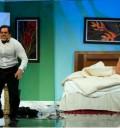Omar Chaparro y Cecilia Galeano en Hazme Reír