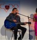 Maite Perroni cantando el tema de Mi Pecado