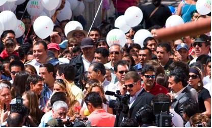 Elenco de Mi Pecado llega a San Cristóbal de las Casas