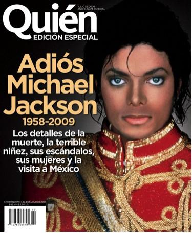 Revista Quién Edición Especial de Michael Jackson