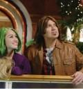 Miley Cyrus con peluca verde