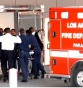 Michael Jackson llegando al hospital