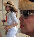 Janet Jackson llegando al hospital tras la muerte de Michael Jackson
