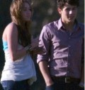 Nick Jonas con Miley Cyrus