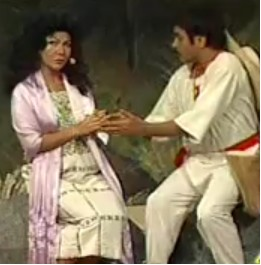 Omar Chaparro y Celilia Galeano en primer lugar de Hazme Reír junto con Galilea y Roxanna