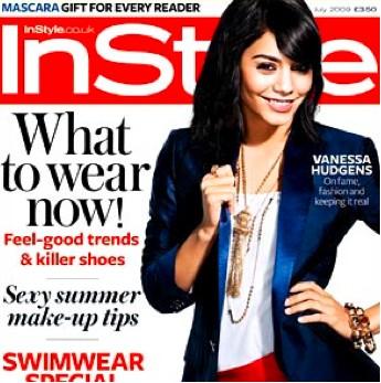Vanessa Hudgens en Revista InStyle UK