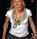 Madonna muy delgada