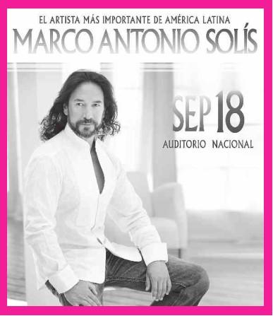Marco Antonio Solis en el Auditorio Nacional