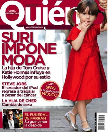 Suri en Revista Quién