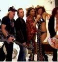 Bar Refaeli con Aerosmith