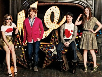 Elenco De Harry Potter en EW