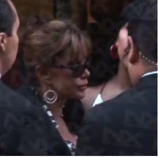Lucía Mendez borracha en la fiesta de la hija de Yuri