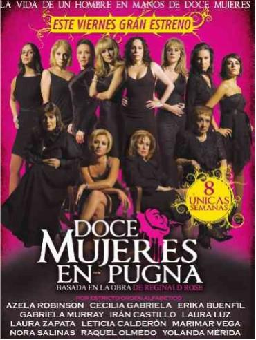 21 de agosto estreno de Doce Mujeres en Pugna