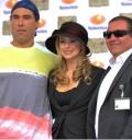 Aracely Arámbula, Eduardo Yañez y Salvador Mejía
