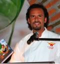 Chef Oropeza en la Presnetación de su libro