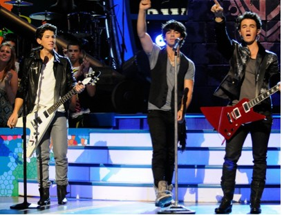 Jonas Brothers en los Teen Choice Awards 2009