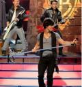 Jonas Brothers cantando en Teen Choice Awards