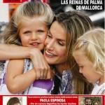 Leonor y Sofía en Revista HOLA