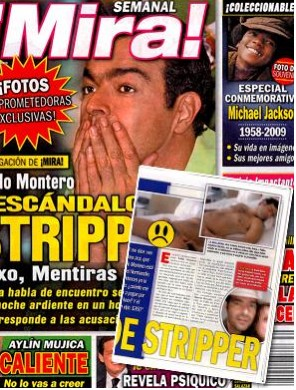 Pablo Montero en Revista Mira
