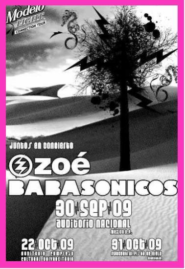 Zoé y Babasonicos en el Auditorio Nacional