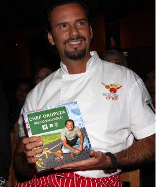 México Saludable Libro de El Chef Oropeza