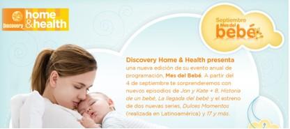 Septiembre mes del bebé en Discovery Home & Health