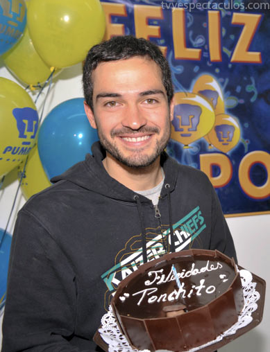 Alfonso Herrera festejó su cumpleaños