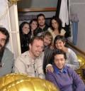 Festejo de cumpleaños de Poncho Herrera