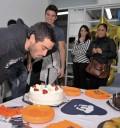 Poncho Herrera festejando su cumpleaños