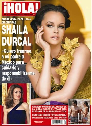 Shaila Durcal en Revista HOLA