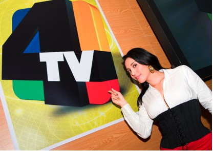 Sugey Abrego en Canal 4