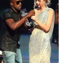 Kanye y Taylor en MTV VMA 09