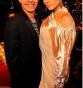 Marc Anthony y Jannifer Lopez en MTV VMA 09