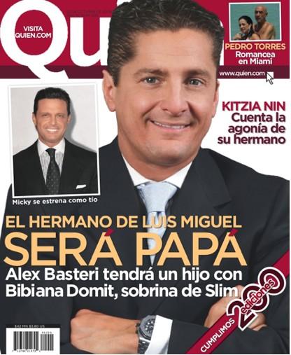 Alex Basteri en Revista Quién