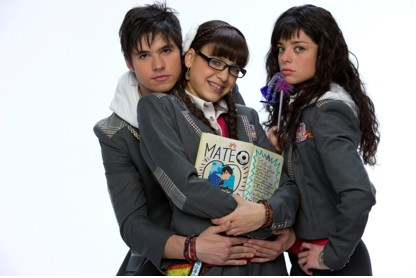 Mateo, Antonella y Patito