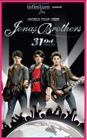 Jonas Brothers 31 de Octubre en el Foro Sol