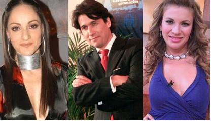 Lola Cortes, Rafael Araneda e Ingrid Coronado en La Academia