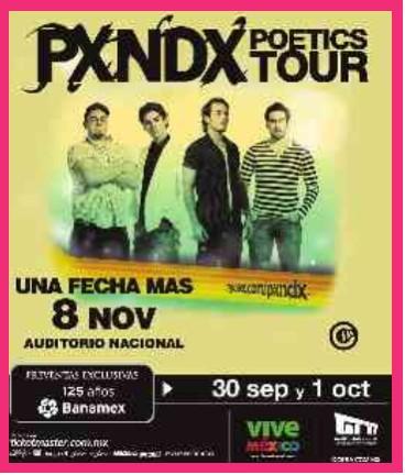 Panda en el Auditorio Nacional 8 de Noviembre