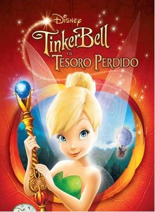 TinkerBell y el tesoro perdido estreno en México