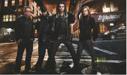 Tokio Hotel en Revista Vogue