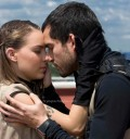 Beso entre Belinda y Poncho Herrera