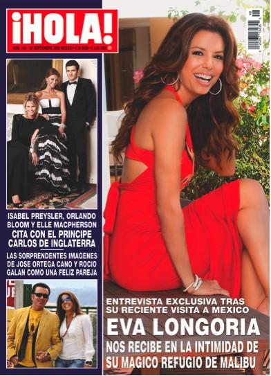 Eva Longoria en Hola México