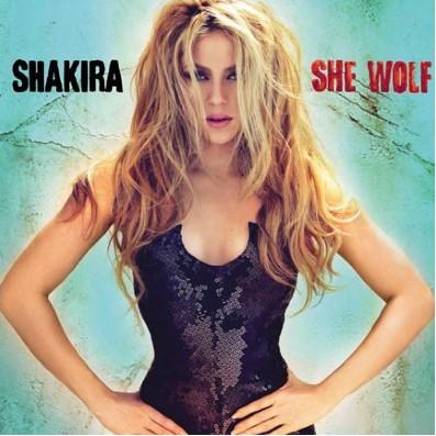 Portada She wolf de Shakira
