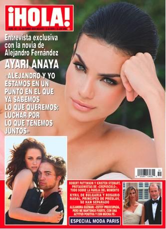 Ayari Anaya en Revista HOLA