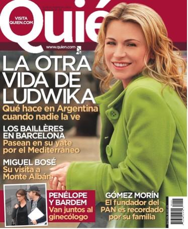 Ludwika Paleta en Revista Quién
