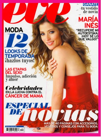 María Inés en Revista Eve
