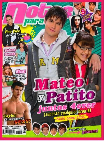 Mateo y Patito en Notas Para Ti