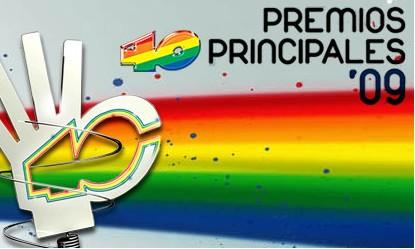 Premios Los 40 Pincipales 09