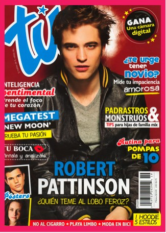 Robert Pattinson en Revista Tú