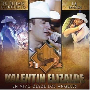 DVD Valentin Elizalde en Vivo desde Los Ángeles